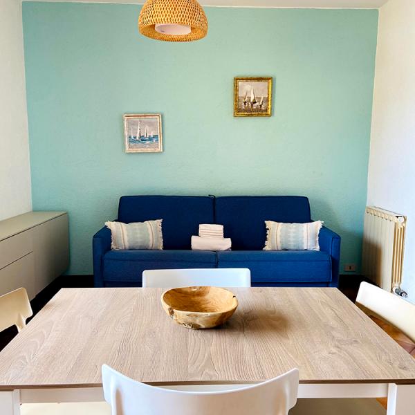 livingroom apartment B3 Residence Il Borgo